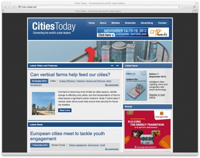 Cities Today online marketing